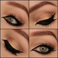 simple arabic eyeliner preen me not only has the pictures of the look but shows the make up you d need to acheive it