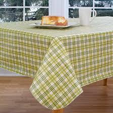 elrene home fashions homestead plaid 70 round vinyl tablecloth reviews wayfair