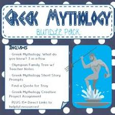 in this research assignment students research different gods  greek mythology activity bundle everything you need to teach greek mythology to secondary students