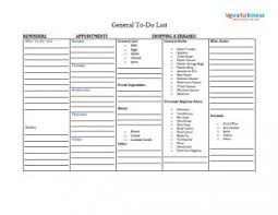To Do List Organizer Pdfs To Do List Sheet