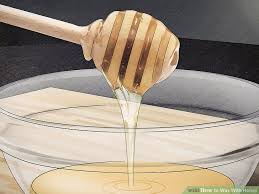 check out this great wax recipe here beyouthful net wax on hair off homemade honey wax strips wax stripit diy
