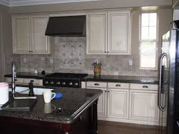 Painted Kitchen Cabinets With Dark Granite Countertops