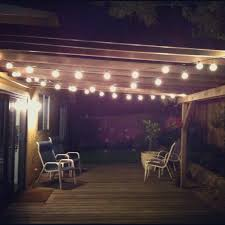 vintage outdoor patio string lights designs