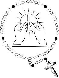 Small Picture Rosary Coloring Pages FunyColoring