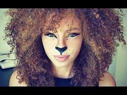 amazing lion makeup tutorial for i so want to do this what do you guys think