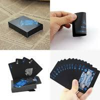<b>Entertain Golden Playing Cards</b> Deck Of Gold Foil Pokers Set Magic ...