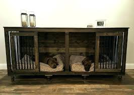 dog crate table top that looks like furniture home diy side coffee wood cover best ideas