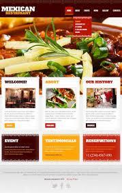 Restaurant Website Templates Mexican Restaurant Website Template 24 1