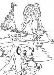 Simba Kleurplaten