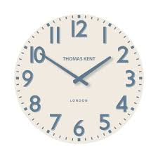 pimlico wall clock 15 regatta blue