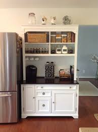 pictures gallery of built in kitchen cabinet makeover at the picket fence with kitchen hutch ideas