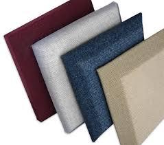 decorative fabric fiberglass acoustic wall panel manufacturer from noida