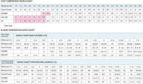 Graf Size Chart Jackson Ice Skate Size Chart Www Bedowntowndaytona Com