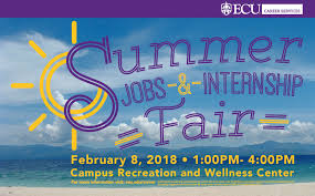 academic works ecu ecu to host summer jobs internship fair for students and alumni