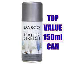 details about dasco shoe stretcher spray 150ml leather stretch shoes boot pain relief