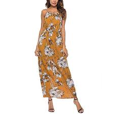 Sagton African Print Dresses For Women Sleeveless O Neck