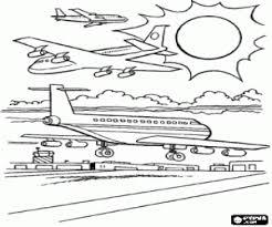 Kleurplaten Vliegtuig Kleurplaat 2
