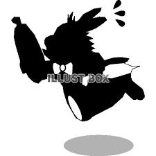 無料イラスト リクエスト素材 不思議の国のアリスのウサギ6
