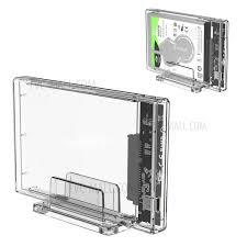 <b>ORICO</b> 2159C3 <b>Transparent Series</b> 2.5 inch 10Gbps Hard Drive ...