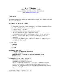 Resume Sample For Maintenance Worker