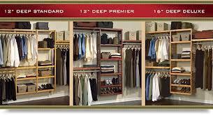 John Louis Home Standard Closet System