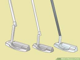 How To Fit A Putter Chart 3 Ways To Measure A Putter Wikihow