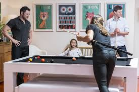 Pool table that is a dining table Ping Pong Playing Pool At Home On Pool Dining Table Youtube Kingswood Leisure The Pub Pool Table Specialist