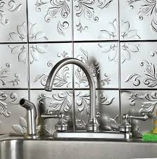 Stick On Backsplash For Kitchen Peel And Stick Kitchen Backsplash Home Depot Home Design Ideas