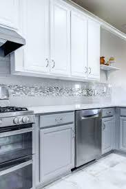 large glass tiles backsplash kitchen grey tile gray l subway green designs backsplashes for kitchens