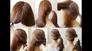 simple and easy hair styles