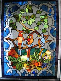 bird ideas stained glass window panels design decors