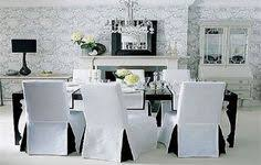 white elegant dining chair slipcover black and white dining chair slipcover