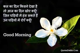 Good Morning Quotes Wallpaper Best Of 24 Good Morning Quotes In Hindi Images Photo Whatsapp