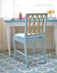 centsational girl painting furniture. gold leaf desk chair via centsationalgirl centsational girl painting furniture
