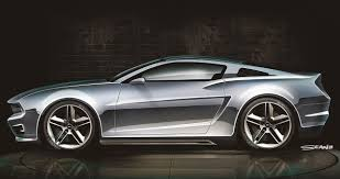 2030 mustang concept. Beautiful Concept Mustang 2016 Concept On 2030 O