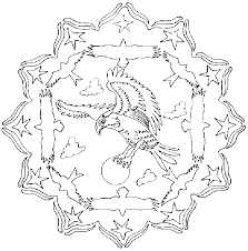 Animal Mandala Coloring Pages Getcoloringpagescom