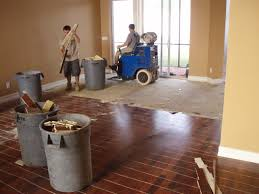we use ride on state of the art removal equipment to remove hardwood flooring both glue down and nail down our equipment is highly effective in removing