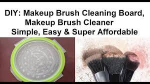 diy makeup brush cleaning board makeup brush cleaner makeup up brush cleaning merriness