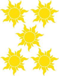 Sun Template Printable Best Photos Of Rapunzel Sunburst Printable Tangled Sun
