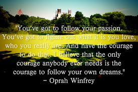 Quotes About Following Your Dreams And Passion Best of Inspirational Quotes About Following Your Dreams Quote Of The Day