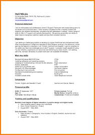 Sample Summary Resume Statements Cover Letter Professional Statement