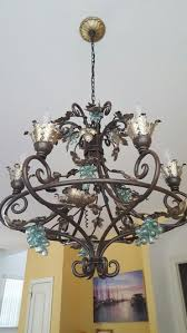 beautiful wrought iron chandelier or best offer for in san antonio tx