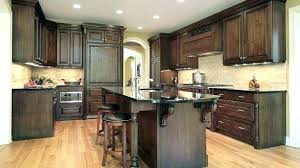 dark stained kitchen cabinets. Staining Oak Cabinets Darker Kitchen Stain Cabinet Pretty Gel . Dark Stained