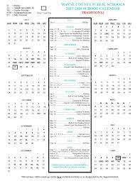 Wayne County Public Schools Calendars ...