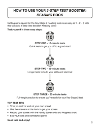 English Sats 3 Step Test Booster Reading York Notes For Ks2