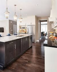 dark kitchen cabinets. Light Cabinets With Dark Floors 4 Kitchen