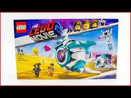UNBOXING <b>LEGO Movie</b> 2 <b>70830</b> Sweet Mayhem's Systar Starship ...