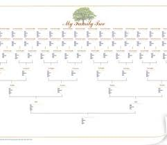 9 Generation Family Tree Template Generation Family Tree Template Excel How To Design With Pictures