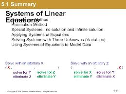 5 1 systems of linear equations 5 1