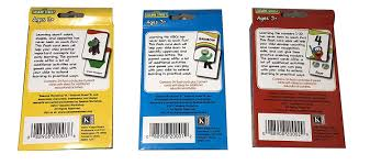 Flash Card Design Ideas Amazon Com Set Of 3 Flash Cards Kindergarten Kg Pre K